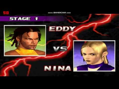 Best Classic Game TEKKEN 3 Let's Play Full Match Eddy Vs Nina