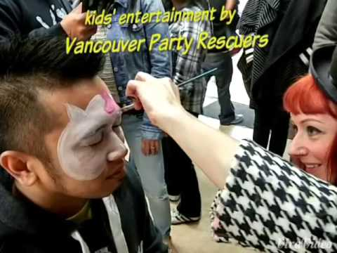 How To Get 3 Vancouver Face Painters for the Price of 1   Vancouver Ma