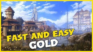 Elder Scrolls Online: Fast And Easy Gold [Lower Level Players]