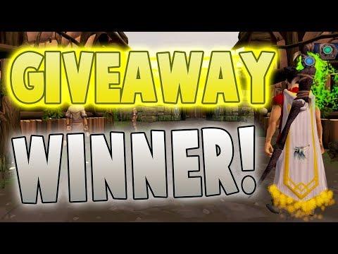Runescape 2017 | 10,000 Subscriber Giveaway Winner!!