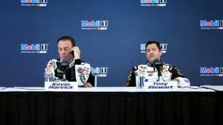 Tony Stewart and Kevin Harvick: Feel the #NASCARLove
