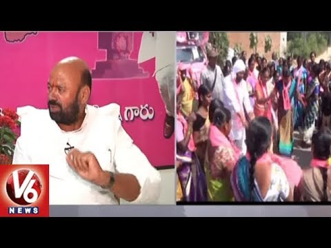Face To Face With Jangaon TRS Candidate Muthireddy Yadagiri Reddy Over Election Campaign | V6