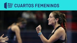 Resumen cuartos femeninos (segundo turno) Estrella Damm Alicante Open