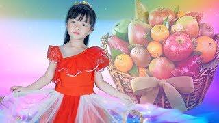 Quả Gì🍋🌏Thần Đồng Âm Nhạc 4 Tuổi Bé MAI VY🍏🍍 Nhạc Thiếu Nhi Cho Bé Vui Nhộn Hay Nhất 2018
