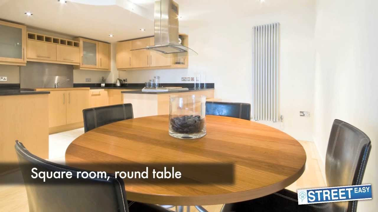 How to buy the perfect dining room table for your nyc for Dining room tables you tube
