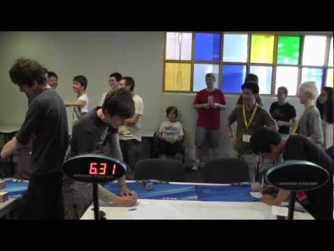 Feliks Zemdegs 6.31 Slow motion 24 Nov 2012