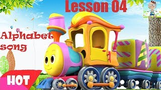 Phonics Songs  ABC Song  Alphabets For Kids  Nursery Rhyme  Baby Songs with Mr Kun - Lesson 4