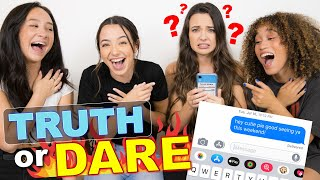 She sent WHAT? TRUTH or DARE! Merrell Twins