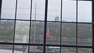 #LatePost LRT 2 Hyundai Rotem EMU TS#04 spotted @ SM City Marikina (5/11/19)