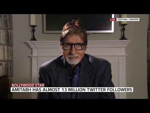 Bollywood Star Amitabh Bachchan Speaks To Sky News