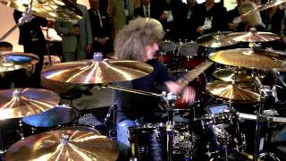 Tommy Aldridge - Yamaha Live Custom - Drumeo Goes To NAMM 2013