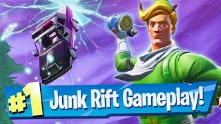 NEW Junk Rift Gameplay + Glitched Consumables - Fortnite Battle Royale