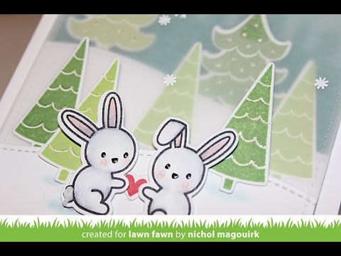 Lawn Fawn | Snow Day Stamps & Dies
