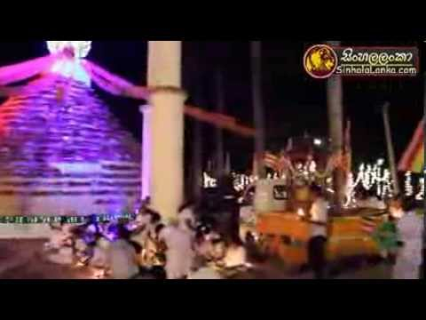 Giri Banda Pujaawa Sri Lanka Buddhists Religious video