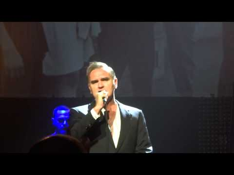 Morrissey (Intro/part of Hand In Glove) @ Orpheum Theatre, Memphis. Security shut me down.