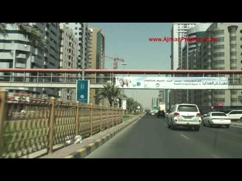 A Drive From Ajman Corniche to Falcon Towers, Ajman through the Ajman City past other Ajman Projects.