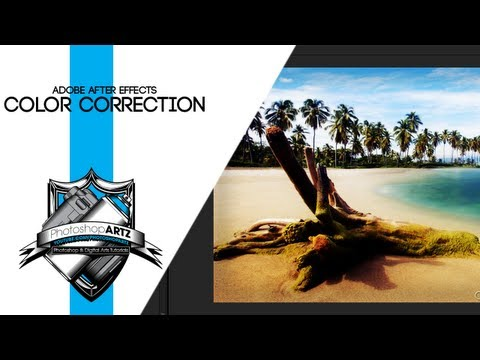 Color Correction/Grading - After Effects Tutorial - Basic