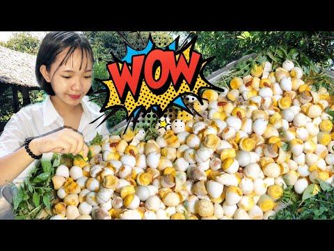 Mâm Trứng Cút Lộn Xào Me Khổng Lồ