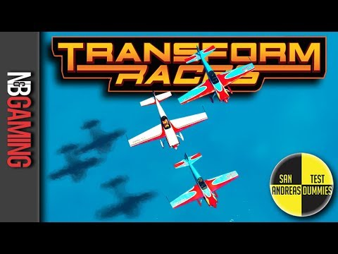 GTA 5  - Transform Races - San Andreas Test Dummies Ep. 93 - GTA5 Funny Moments