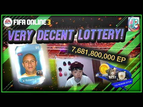 ~7 Billion Roberto Carlos!~ February Premium Lottery 2019 - FIFA ONLINE 3