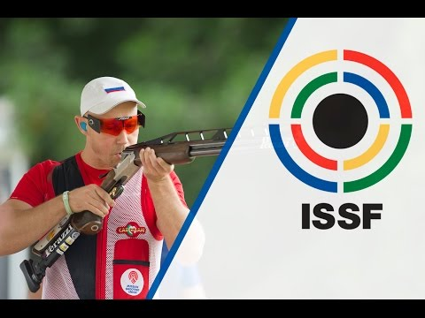 Finals Double Trap Men - ISSF Shotgun World Cup 2015. Al Ain (UAE)