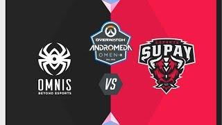 #OWAndromeda Playoffs Vitoria | Omnis vs Supay Esports | Overwatch Andromeda OMEN by HP