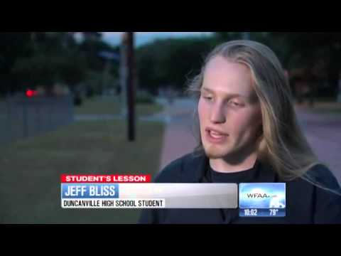 Interview with Jeff Bliss, the High School student who spoke out of his heart