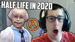 Playing Half Life For The Very First Time In 2020 (It's Scary)