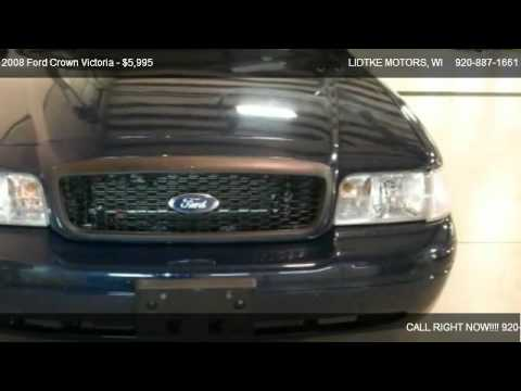 2008 Ford Crown Victoria Police Interceptor For Sale In