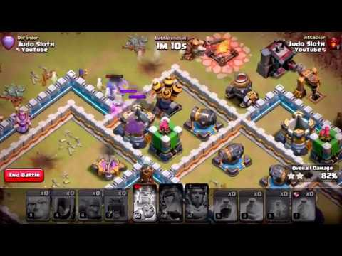 Game Video COC Town Hall lvl12