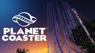 Planet Coaster - The Biggest and Fastest Roller Coaster Ever! - Let's Play Planet Coaster Gameplay
