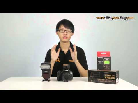 Using the Yongnuo YN622Tx Transmitter with the YN685 (Product Review)