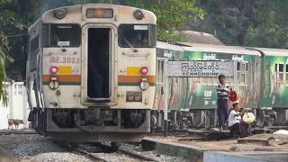 Yangon Circular Railway, Myanmar ミャンマー国鉄ヤンゴン環状線