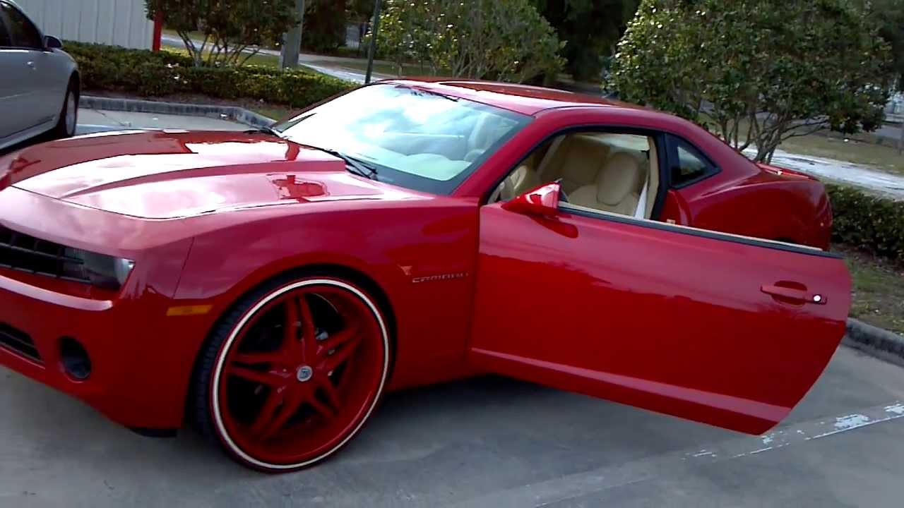 Camaro 24 Quot Red Amp Beige B Z By Mustard N Mayo King Youtube