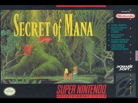 Secret of Mana Video Walkthrough 1/3