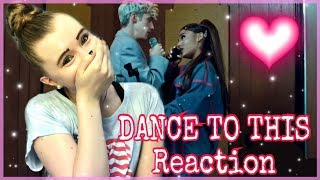 DANCE TO THIS Music Video Reaction - Sara Harlee