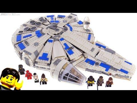 LEGO Star Wars Kessel Run Millennium Falcon review! 75212