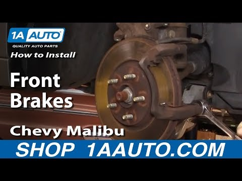 How to Install Replace Front Brakes Chevy Malibu 04-08 1AAuto.com