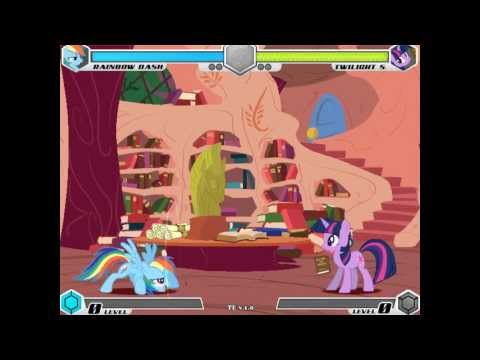My Little Pony-Fighting is Magic :The Fighting struggle of Rainbow Dash