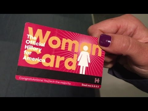 Trump's 'woman card' comment leads to this...
