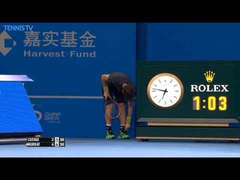 Andy Murray Bizarre Hot Shot Beijing 2014