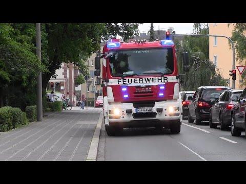 HLF 3 FW 4 im Löschzug FW 1 BF Nürnberg [neue Rosenbauer AT3]