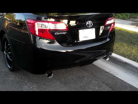 2010 Camry Se V6 Borla Exhaust Resonator Deleted How To