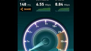 Jionet wifi speedtest in kolkata [jadavpur 8B]