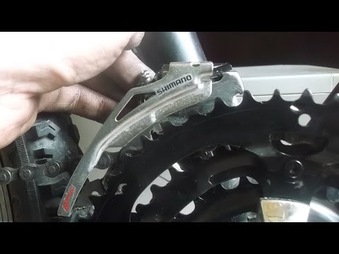 Настройка передней перекидки велосипеда - Video Forex