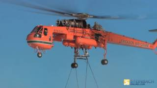 Erickson Air Crane setting up large towers (video credit: Manitoba Hydro)