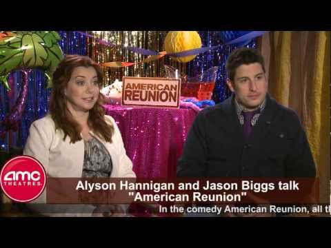 Jason Biggs and Alyson Hannigan Talk