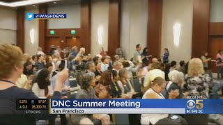 Controversy Erupts Over Climate Change At Democratic National Committee Meeting