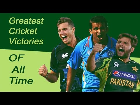 Greatest Cricket Victories of all time @ Last Over Cricket Matches