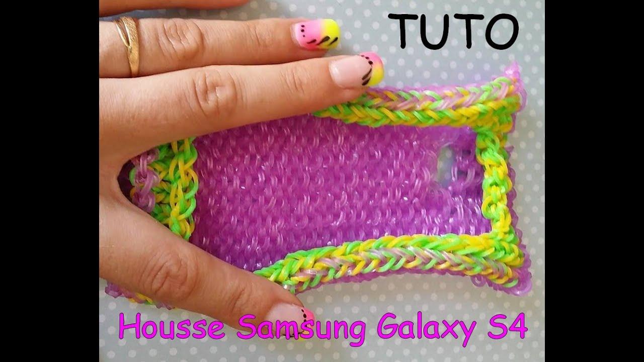 Tuto housse samsung galaxy s4 en lastique youtube - Fabriquer une coque de telephone ...